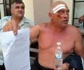 Битият миньор осъди полицията