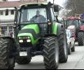 Зърнопроизводители изкараха тракторите си на протест