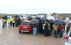 Дъжд отложи вземането на пробите на 19 април.