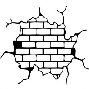 Napukana stena graph