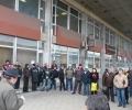 Митинг на гарата подкрепи железничарската стачка