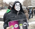 Старозагорски младежи протестираха против АСТА