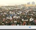 140 000 московчани защитиха Путин, опозицията събра 36 000 на митинга си