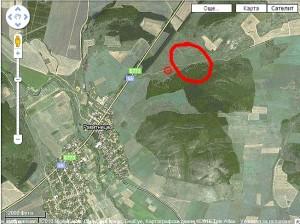 Мястото на разположение на Регионалното депо. Снимка maps.google.com