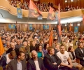Над 1200 души посрещнаха Бареков и коалиционните му партньори от ВМРО, ЗНС и