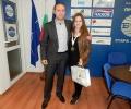 Кандидатът за евродепутат от ГЕРБ Ангел Филипов поздрави европейския  медалист по Ушу