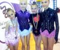 Гимнастичките на Гълъбово - с челни места в турнира по художествена гимнастика в Гюргево, Румъния
