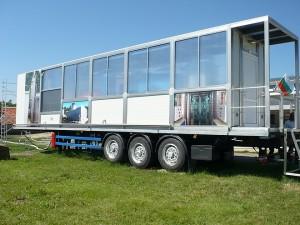 Пречиствателният модул е построен върху автомобилно шаси и може да бъде позициониран навсякъде