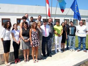 Участниците в презентацията - снимка за спомен
