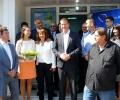 Бойко Борисов и Ева Паунова от ГЕРБ/ЕНП откриха в Стара Загора първия й евро-информационен офис в страната