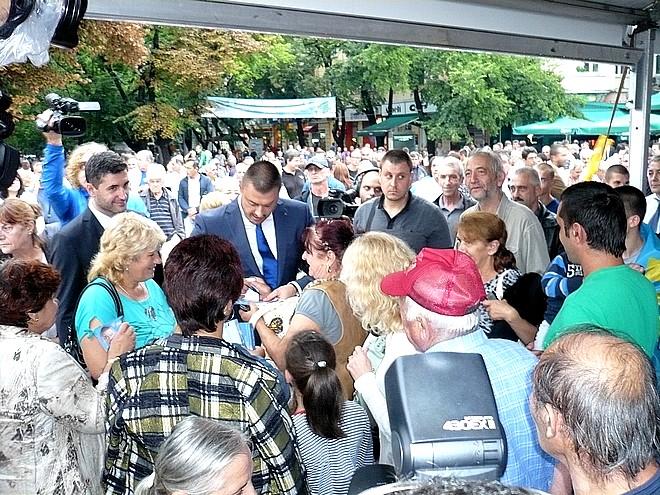 """cfdf5184189 Коалиция """"България без цензура"""" откри националната си предизборна кампания  в Стара Загора"""