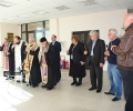 Митрополит Галактион освети с богоявленска вода сградата на oбщинската администрация в Гълъбово
