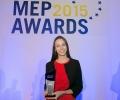 Ева Паунова беше избрана за евродепутат на годината
