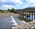 Укрепен е мостът на река Тунджа при село Розово