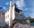 Отстраняват авариралата част на казанлъшката гимназия, укрепват сградата