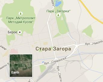 I Stara Zagora Stana Triizmerna V Kartite Na Gugl Panoramata Si