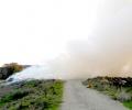 РИОСВ: Няма замърсяване на въздуха от пожара в село Горно Сахране, община Павел баня