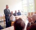 Кандидати от листата на ГЕРБ за общински съветници в Стара Загора се срещнаха с пенсионери по повод празника им