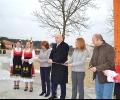 Министър Красен Кралев и кметът на Казанлък откриха площадка за екстремни спортове в града