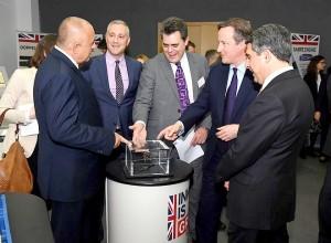 Изложбата, показана в София за пръв път като част от програмата на британския премиер Дейвид Камерън за насърчаване на конкурентоспособността на ЕС, е отворена за всички от 14 до 19 декември в сградата на Британски съвет.