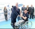 """Новоремонтираната спортна зала """"Енергетик"""" в Гълъбово бе официално открита с второто издание на Регионалните игри за хора с увреждания"""