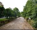 Реката в Казанлък е създала през нощта проблеми, Тунджа също преля при с.Ягода