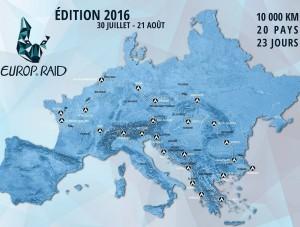 Europ'Raid 2016_ map