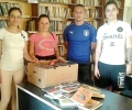 Младежите от ГЕРБ в Раднево дариха книги на местно читалище