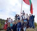 На 12-метров пилон се развя българското знаме над село Ветрен по инициатива на МГЕРБ