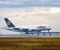 Airbus A380 на Lufthansa кацна за пръв път на летище София
