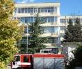 Късо съединение задими Ректората на Тракийския университет, огнеборците предотвратиха голям пожар