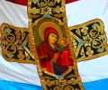 Освещават копие на Самарското знаме в Казанлък