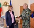 Командирът на 61-ва Стрямска механизирана бригада става началник на Военна академия
