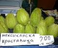 На пазара в Стара Загора се появи зеленчук от времето на ацтеките и маите
