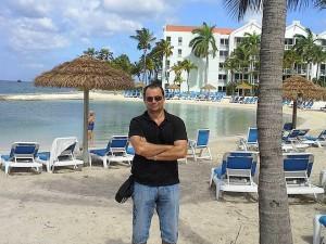 Добрин Димов на остров Аруба