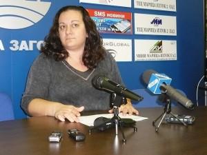 Теодора Крумова е председател на РИК - Стара Загора и за тези избори