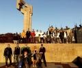 Младежите от ГЕРБ в Стара Загора и Раднево почистиха край паметници в навечерието на Трети март