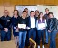Директорът на ОДМВР Стара Загора връчи почетни грамоти за гражданска доблест на Наска Гитова Бончева и Стефан Златков Ангелов.