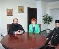 Областният управител Гергана Микова се срещна със Старозагорския митрополит Киприан