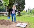 Гинка Станчева откри звезда с името си и посади своя липа в Стара Загора