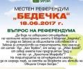 На местния референдум в Стара Загора ще се гласува както на всички избори досега