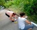 Защитниците на Бедечка възстановиха основни алеи в парка