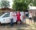 Чехи дариха нов автомобил на Спасителния център за диви животни в Стара Загора