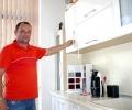 Кухненско обзавеждане с италианско качество и дизайн прави старозагорец, специализирал 7 години в Бергамо