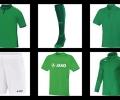 Официалният екип на отбора на Христо Стоичков и приятели за звездния мач в Стара Загора е в зелено и бяло