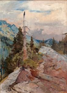 """""""Сухо дърво"""", 1935, Атанас Михов"""