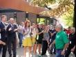 Кметът на Стара Загора Живко Тодоров посрещна в Регионалния исторически музей именитите футболисти на Барса и българския национален тим'94