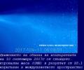 Мощните слънчеви изригвания между 4 и 10 септември предизвикаха спад в потока на галактичните космически лъчи с 11-12%