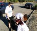 Младежите от ГЕРБ и общински съветници се включиха в почистването на Стара Загора