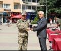 Казанлък посрещна 33-я български военен контингент от Афганистан